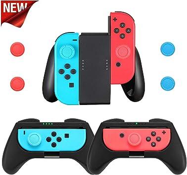 Soporte Empuñadura Confort Mando Joy-con para Nintendo Switch 3 ...