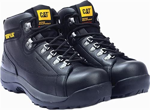 Para hombre con Caterpillar Tailbrelle hidráulico botas de seguridad para motosierra con cordones calzado zapato de