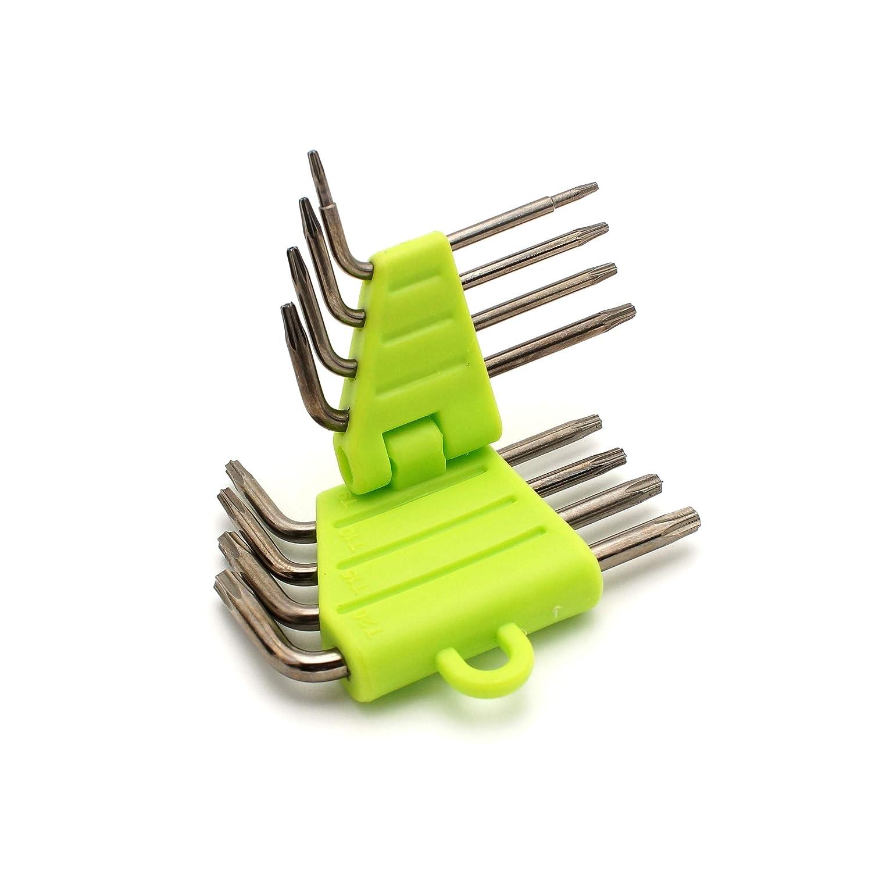 Cohk 8 pezzi chiave esagonale e chiave inglese set di cacciaviti a stella chiave a brugola