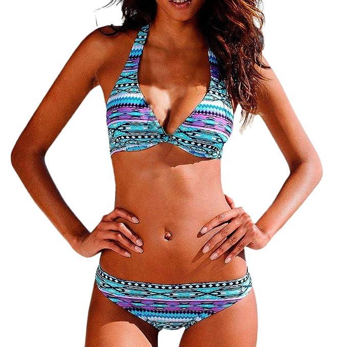 ac3e6a076479 DressLksnf Bikini Push Up Mujer 2019 Traje De Baño Sexy Coloreado ...