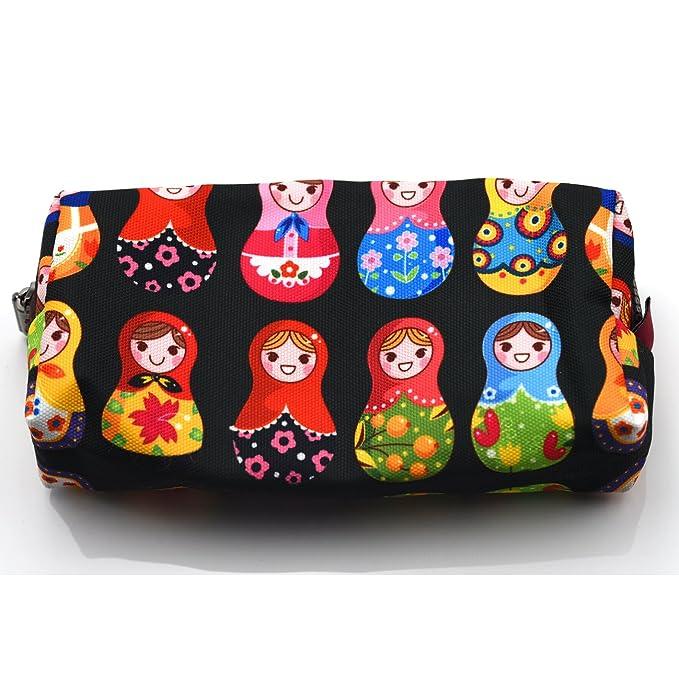Amazon.com: Muñecas matryoshka muñeca rusa bolsa estuche ...