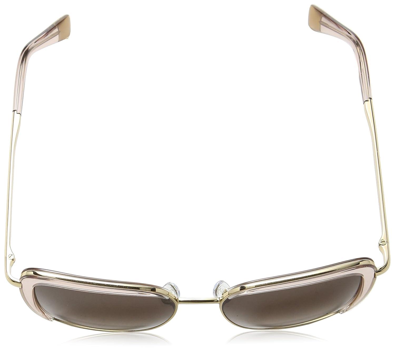 Furla Eyewear Mujer N/A Gafas de sol, Transparente (Shiny Rose Gold), 45