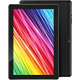 Tablet 10.1 Inch Android 9.0 Tablets with 4GB RAM+64GB ROM 2MP+ 5MP Camera, WiFi, Bluetooth, GPS, Quad Core,1280x800HD Touchscreen - 6000mAh Battery (Black)