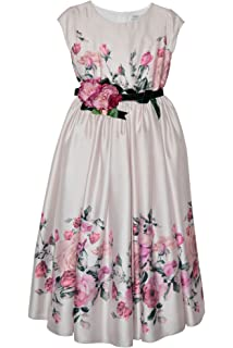 05f0479145 Lesy Baby Girl Dress in Organza Embroidered with Musical Design ...