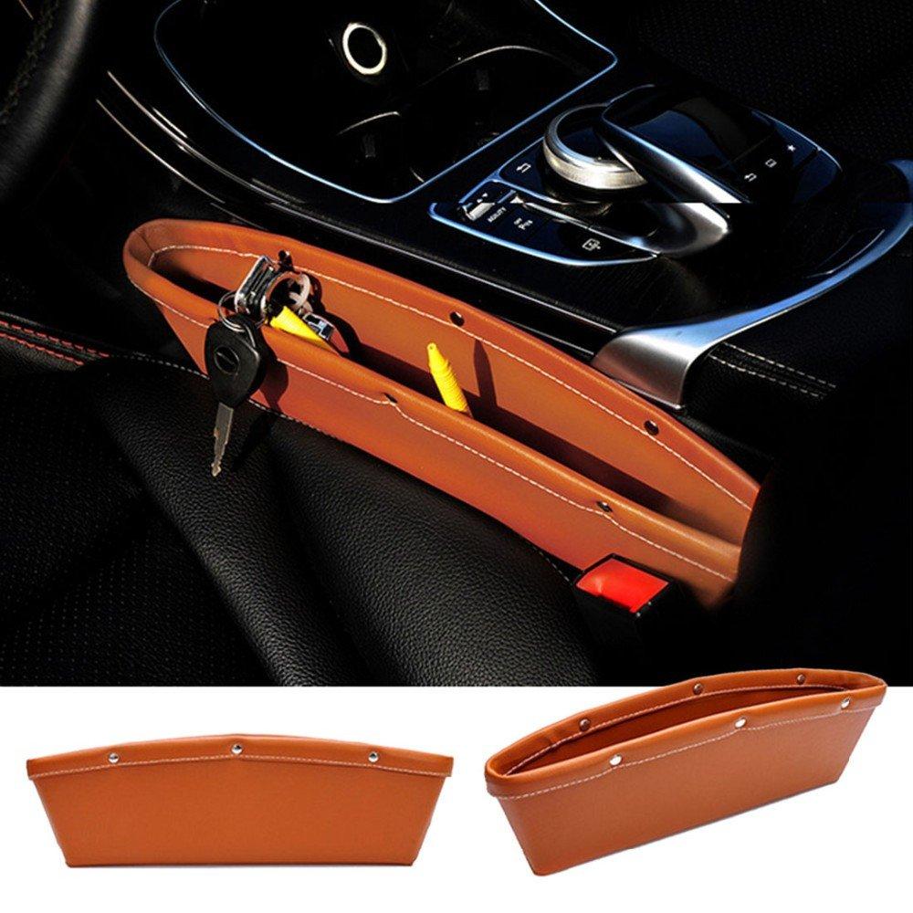 2 Tasche portaoggetti per auto, per le portiere laterali o per lo spazio tra i due sedili S7 SEVEN