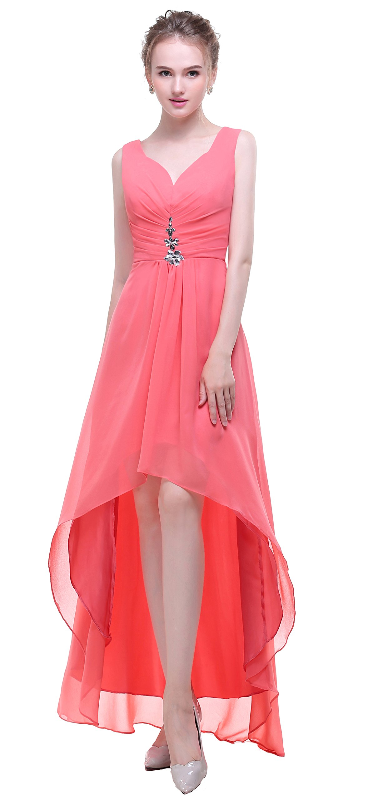 Coral Dresses for Mother of Bride: Amazon.com