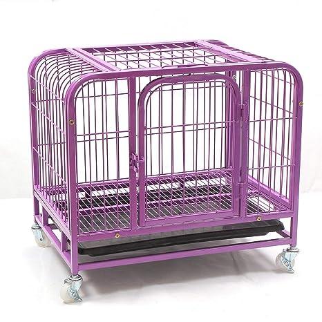 Jaula Plegable de Acero con Ruedas para Transportar Animales y ...