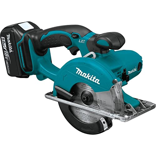 Makita XSC01T 18V LXT Lithium-Ion Cordless 5-3 8 Metal Cutting Saw Kit 5.0Ah