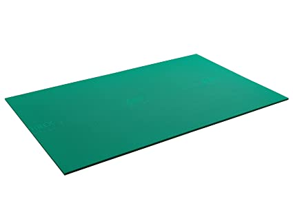 Amazon Com Airex Atlas Workout Exercise Mat For Fitness Gym Floor Yoga Pilates Green 78 X 48 X 5 8 Industrial Scientific
