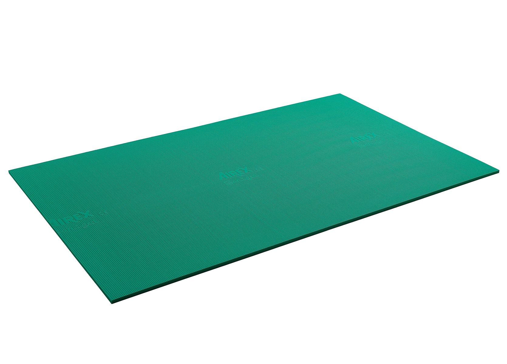 Airex 32-1234G Exercise Mat, Atlas, 78'' x 48'' x 0.63'', Green