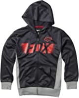 Fox Racing Youth Boys Halstead Fleece Hoody Zip Sweatshirt