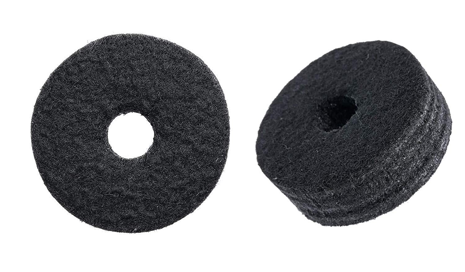 18 Pcs Cymbal Replacement Accessories Cymbal Felts Hi-Hat Clutch Felt Hi Hat Cup Felt Cymbal Sleeves with Cymbal Washer and Base Wing Nuts Replacement