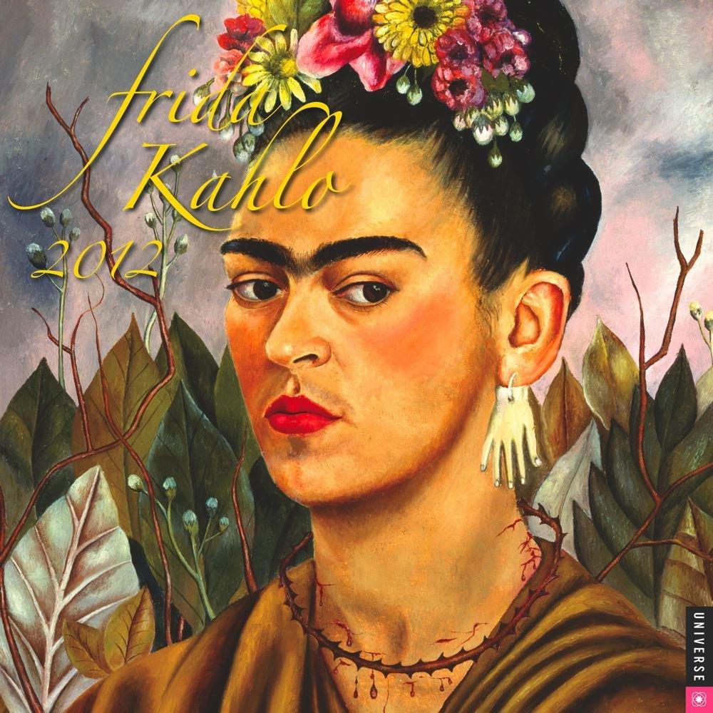 frida kahlo 2012 wall calendar