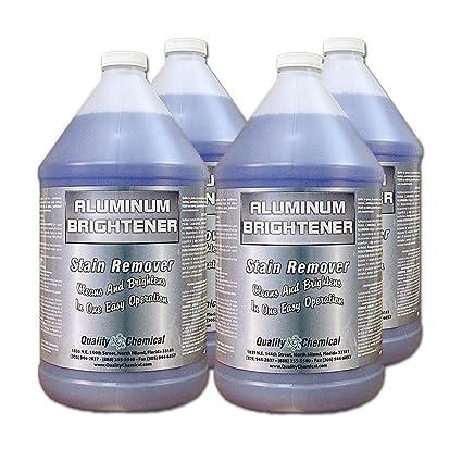 Aluminum Cleaner & Brightener & Restorer (4 gallon case)