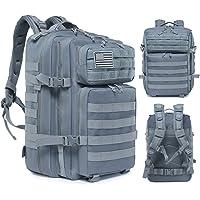 Delgeo Mochila Táctica Militar, 45L Gran Capacidad Mochila Crossfit, Plegable Impermeable Mochila Supervivencia…
