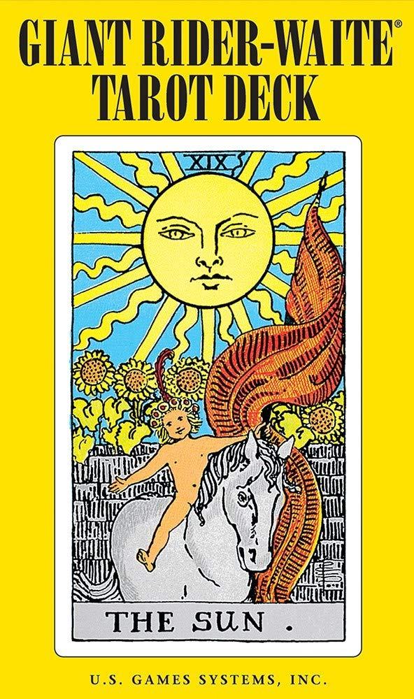 Giant Rider-Waite Tarot Deck: Complete 78-Card Deck: Pamela