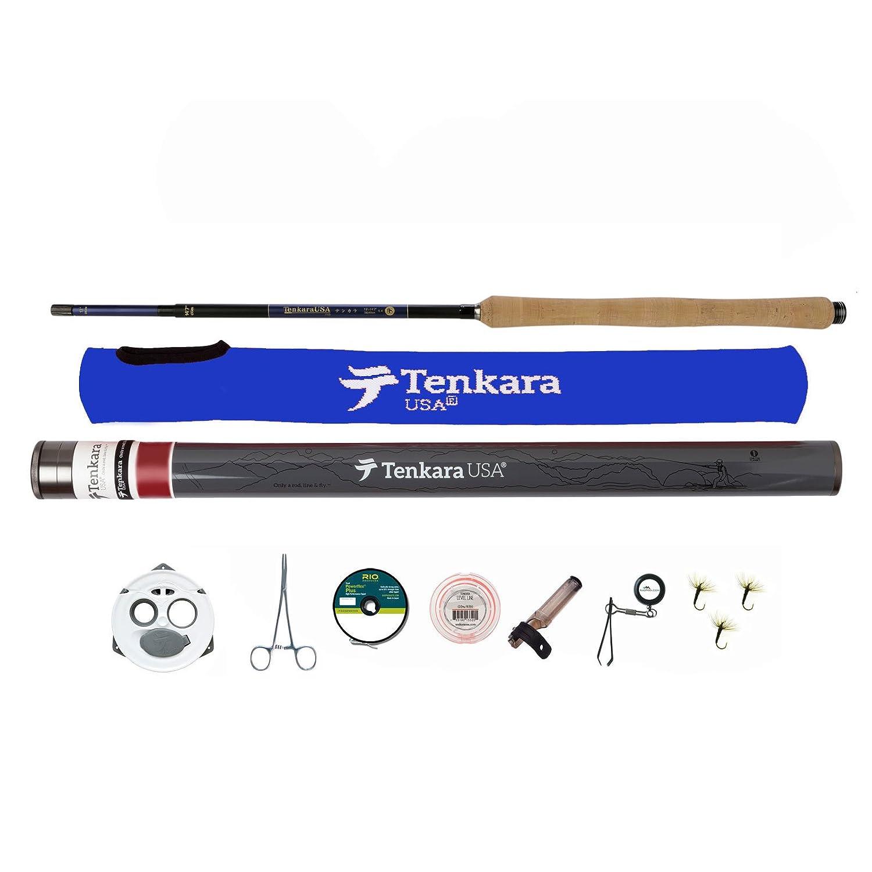 Tenkara USA Itoフライロッド&アクセサリーキットwithレベルラインとラインKeeper B01MQQZ506