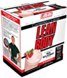 Labrada Nutrition Carb Watcher Lean Body Meal Replacement Powder, Strawberry Ice Cream, 2.29-Ounce Packets (Pack of 20)