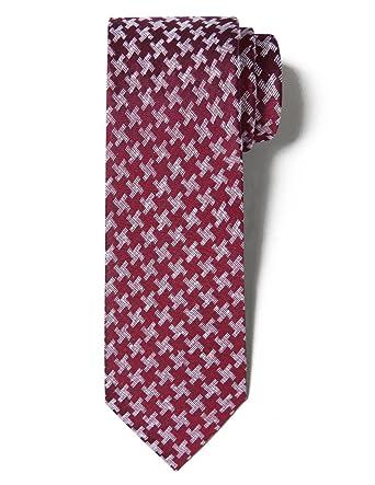 ORIGIN TIES Corbata formal de seda con patrón de moda para hombre ...