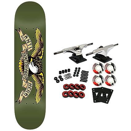 78cc32f805 Amazon.com : Anti Hero Skateboard Complete Classic Eagle Army 8.38 ...