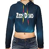 Allan-li Mens Zeds Dead Logo Long Sleeve Hooded Sweat Shirt Pullover