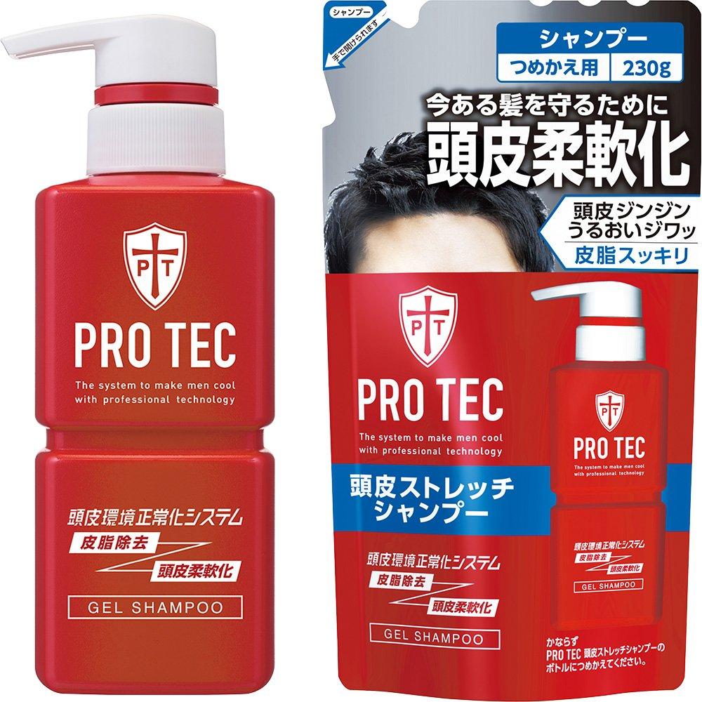 【ライオン】PRO TEC 頭皮ストレッチシャンプーのサムネイル
