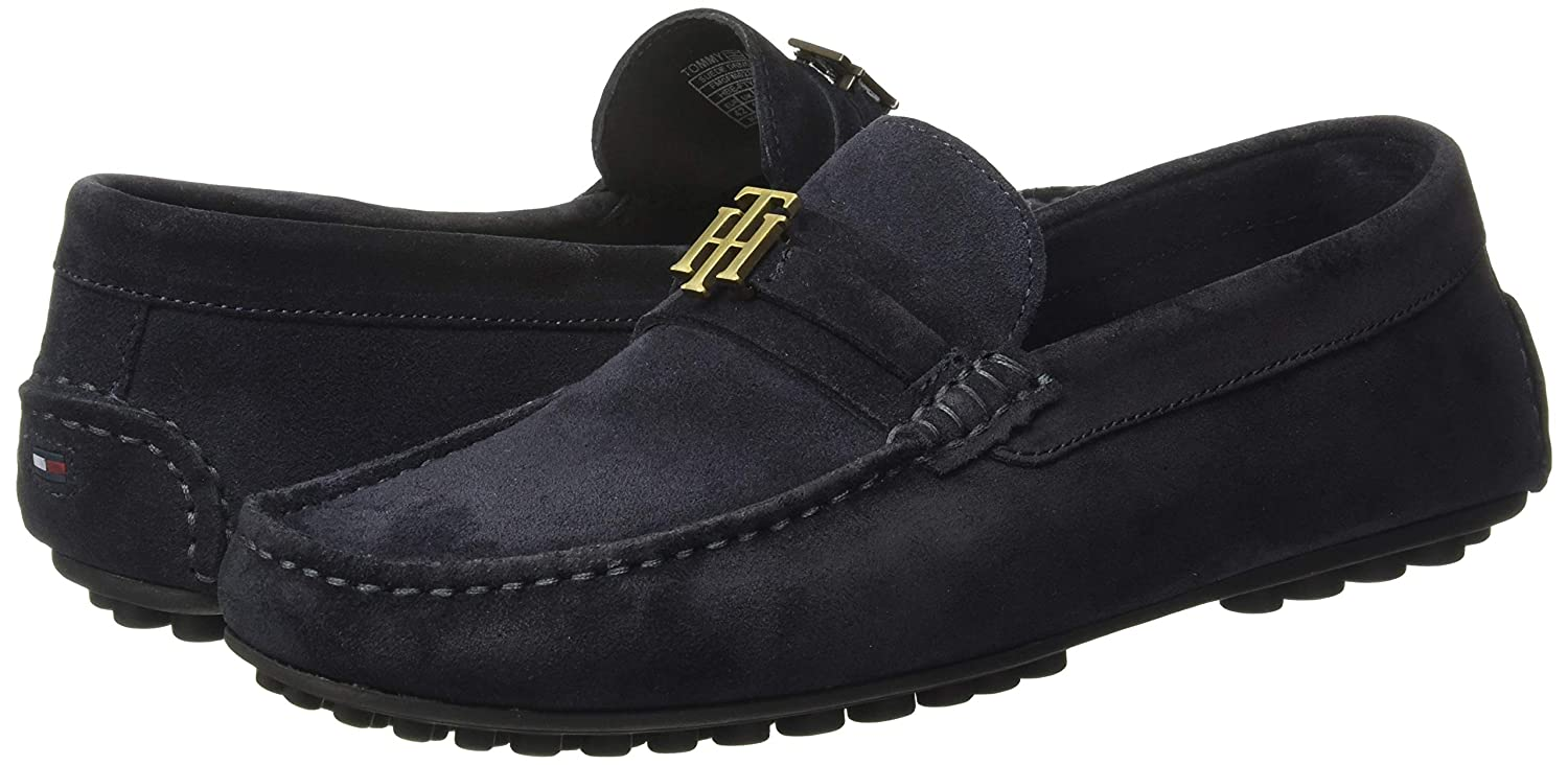 b1a6de25c4e TOMMY HILFIGER Men s Midnight Loafers-7 UK India (41 EU) (P9AMF246)  Buy  Online at Low Prices in India - Amazon.in