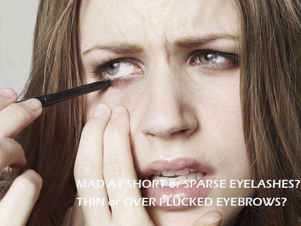 Yeelen Eyelash Eyebrow Growth Serum Grows Longer, Fuller, Thicker Lashes & Brows in 45 days! Enhancer Eyelash Conditioner Non-prescription Eyelash Serum 5ml by Yeelen (Image #4)