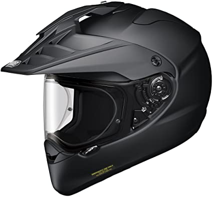 Shoei Hornet X2 Street Bike Racing Motorcycle Helmet Medium Matte Black