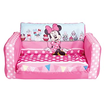 Beau Minnie Mouse Flip Out Mini Sofa, Plastic, Pink