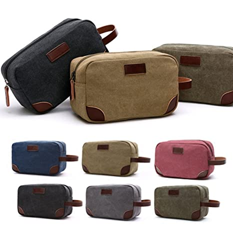 Image Unavailable. Image not available for. Color  ShopSquare64 Portable  Mens Toiletry Bag Women Travel Wash Shower Bag Organizer Kit ... e6c2910f54f6b