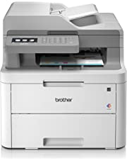 Brother DCP-L3550CDW A4 Colour Laser Printer, Wireless and PC Connected, Print, Copy, Scan and 2 Sided Printing