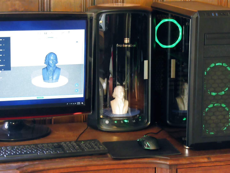 Amazon.com: Frankensbox fx-800 Wi-Fi impresora 3D, compacta ...