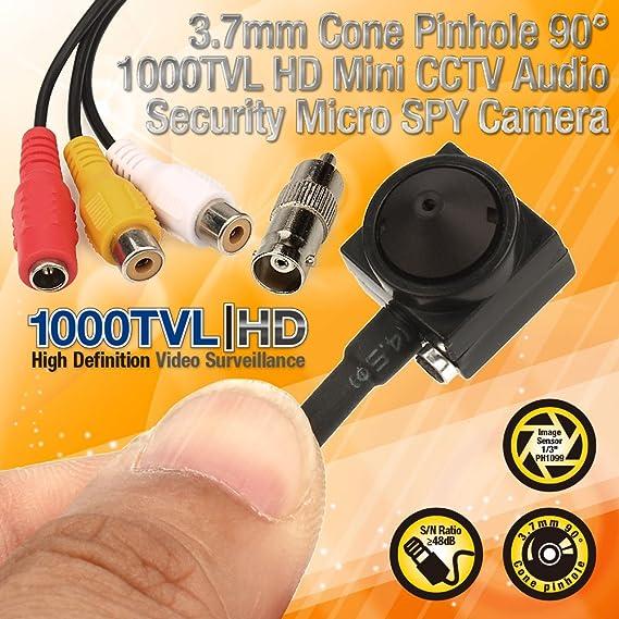 "1000TVL HD Mini Kamera 1//3/"" PH1099 Camcorder Audio Video Überwachung Spionkamera"