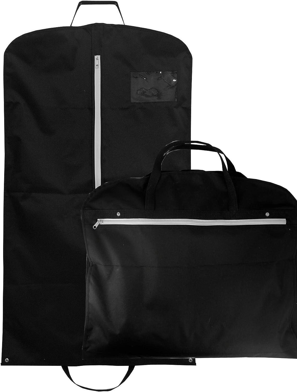 Grau Reisetaschen Modoker Wandelbarer Kleidersack mit Schultergurt Anzug f/ür Herren und Damen 2-in-1 H/ängender Koffer grau - garment bags