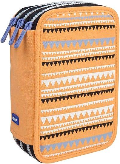 Estuche Milan Party Time Orange Triple 53 Piezas: Amazon.es: Oficina y papelería
