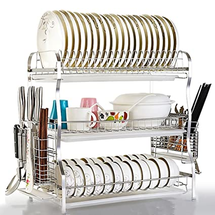 Amazon.com - Kitchen shelf Dish rack Drain rack Kitchen ...