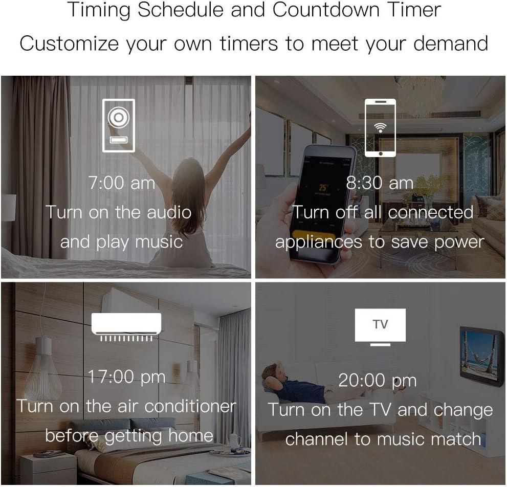 MoesGo Concentrador IR por Control Remoto con WiFi para controlar hogares Digitales con la Voz o Las apps Smart Life y Tuya, Compatible con Amazon Echo y Google Home: Amazon.es: Electrónica