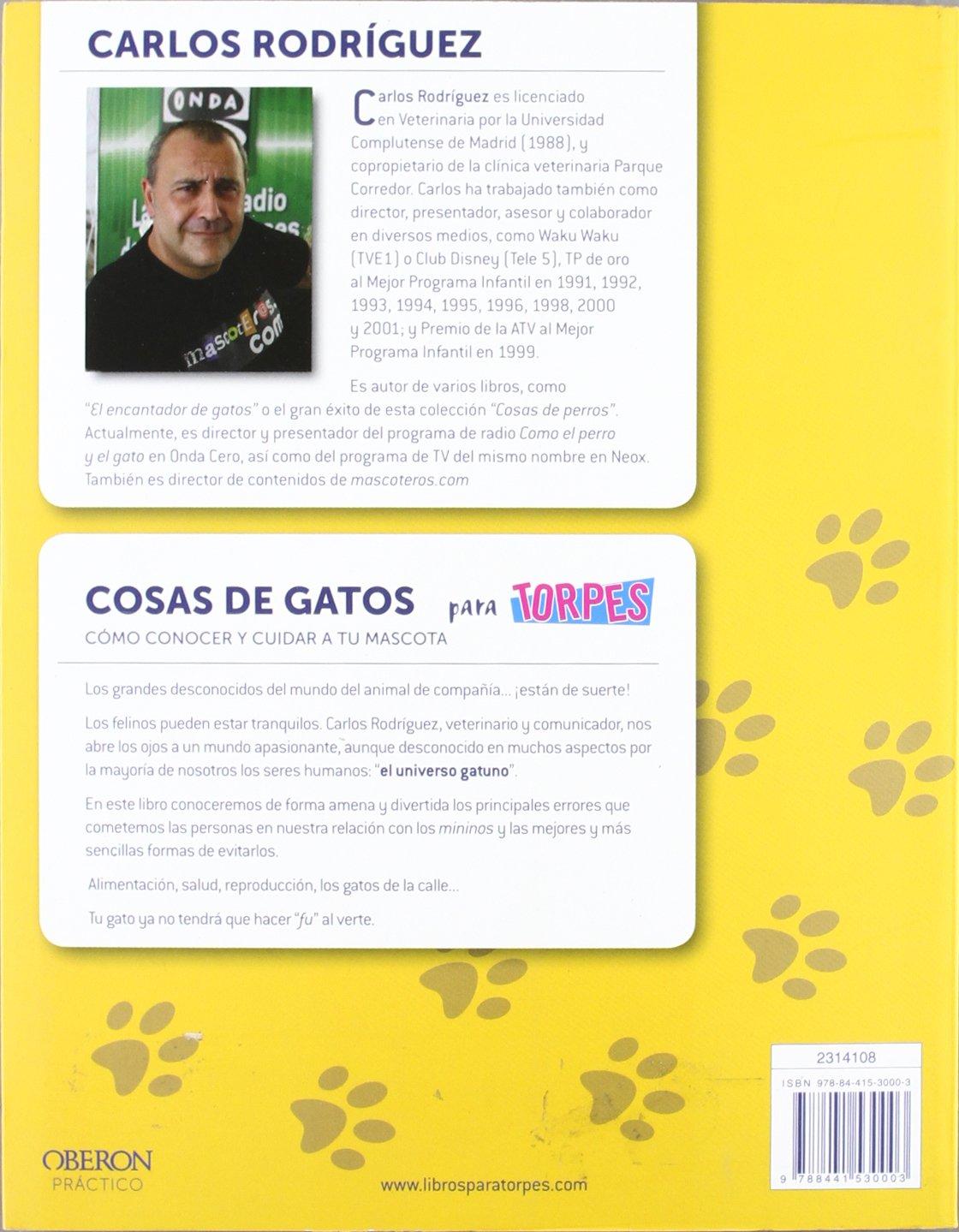 Cosas de gatos: Carlos Rodríguez Rodríguez: 9788441530003: Amazon.com: Books