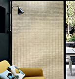 Qualsen Window Film Bamboo Static Decorative