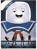 """MSP 0035 Ghostbusters S.O.S""""Stay Puft"""" Poster by Matt Ferguson 30 x 40 cm"""