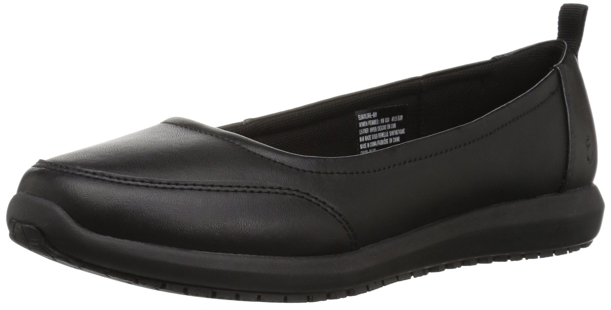 Emeril Lagasse Women's Julia Slip-Resistant Work Shoe, Black, 8 W US