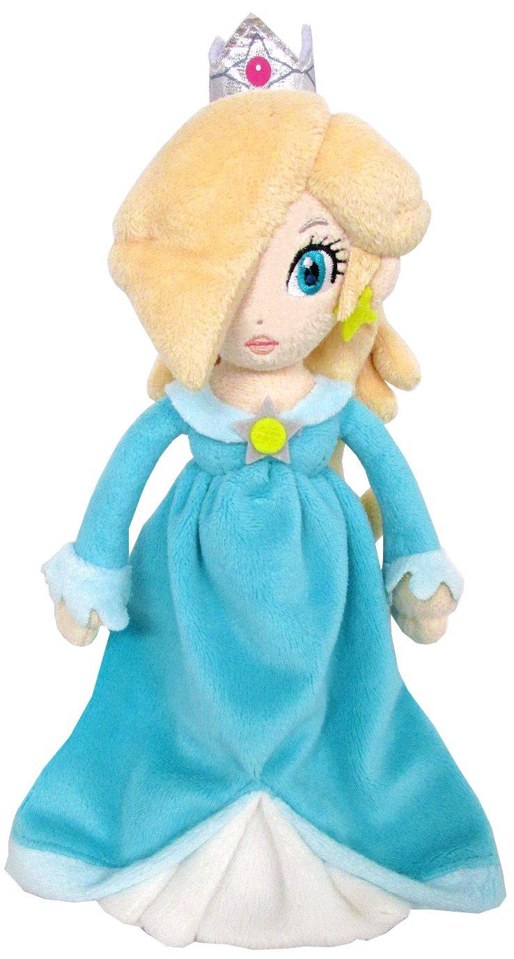 "Sanei Super Mario Series 9"" Princess Rosalina Plush Doll"
