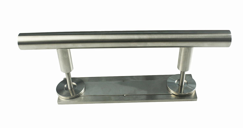 KINMADE Stainless Steel Sliding Barn Door Handle Offset Handle Door Pull and Rectangular Flush/&Inner
