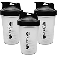 Lifespan Fitness 3X Protein Shaker Drink Bottle