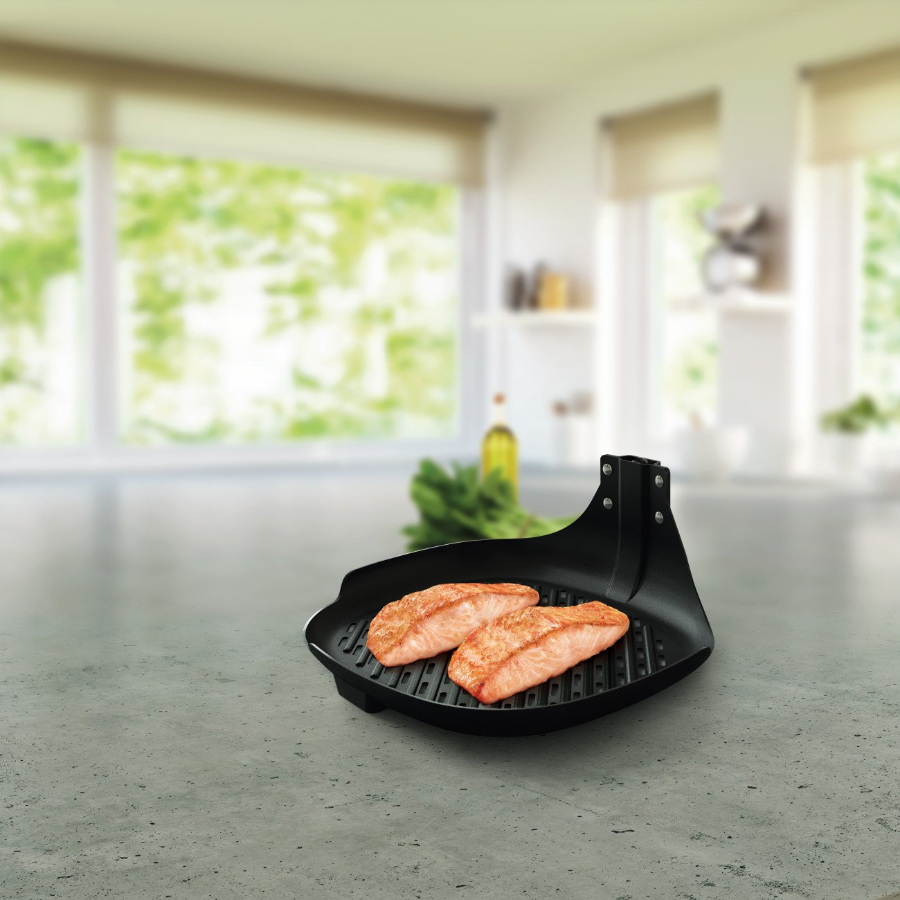 Philips HD9940/00  Airfryer Non-Stick Grill Pan Accessory for TurboStar model Airfryers by Philips (Image #2)