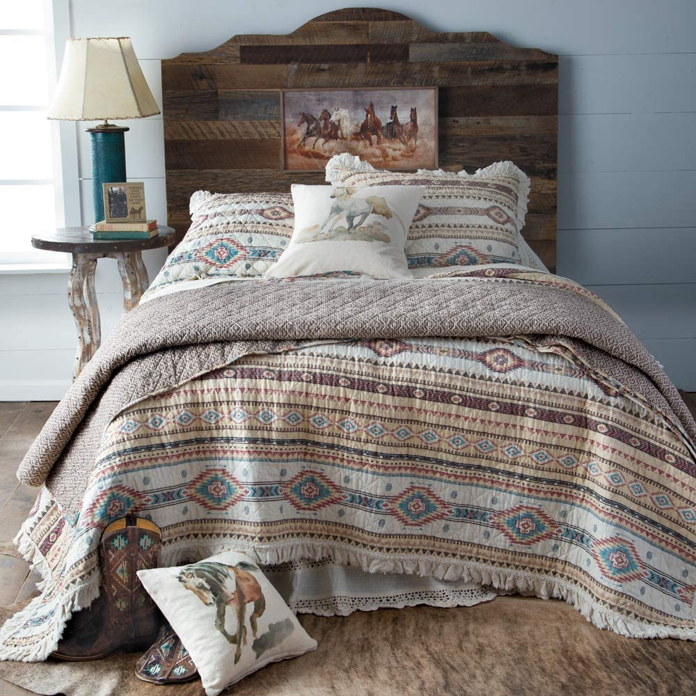 Indian Summer Ruffle Bedding Set (Full/Queen)