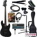 SELDER セルダー ベース ジャズベースタイプ JBC-04/BB VOX amPlug2【アンプラグ2 AP-BS(BASS)】サクラ楽器オリジナルセット