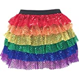 Ruffle Sparkle Running Skirt