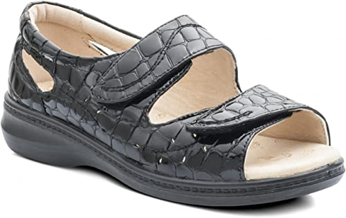 Padders WAVE Ladies Patent Leather